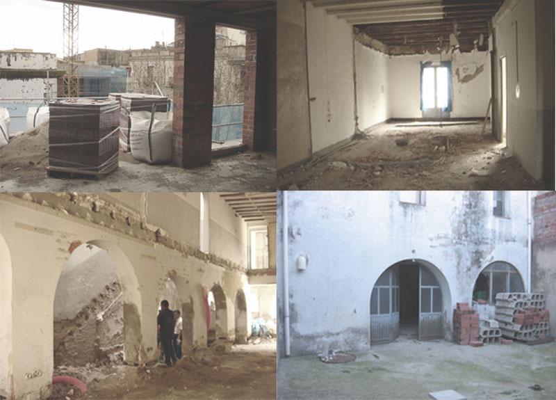 Rehabilitación edificio casco antiguo en Figueres /Rehabilitació edifici casc antic Figures