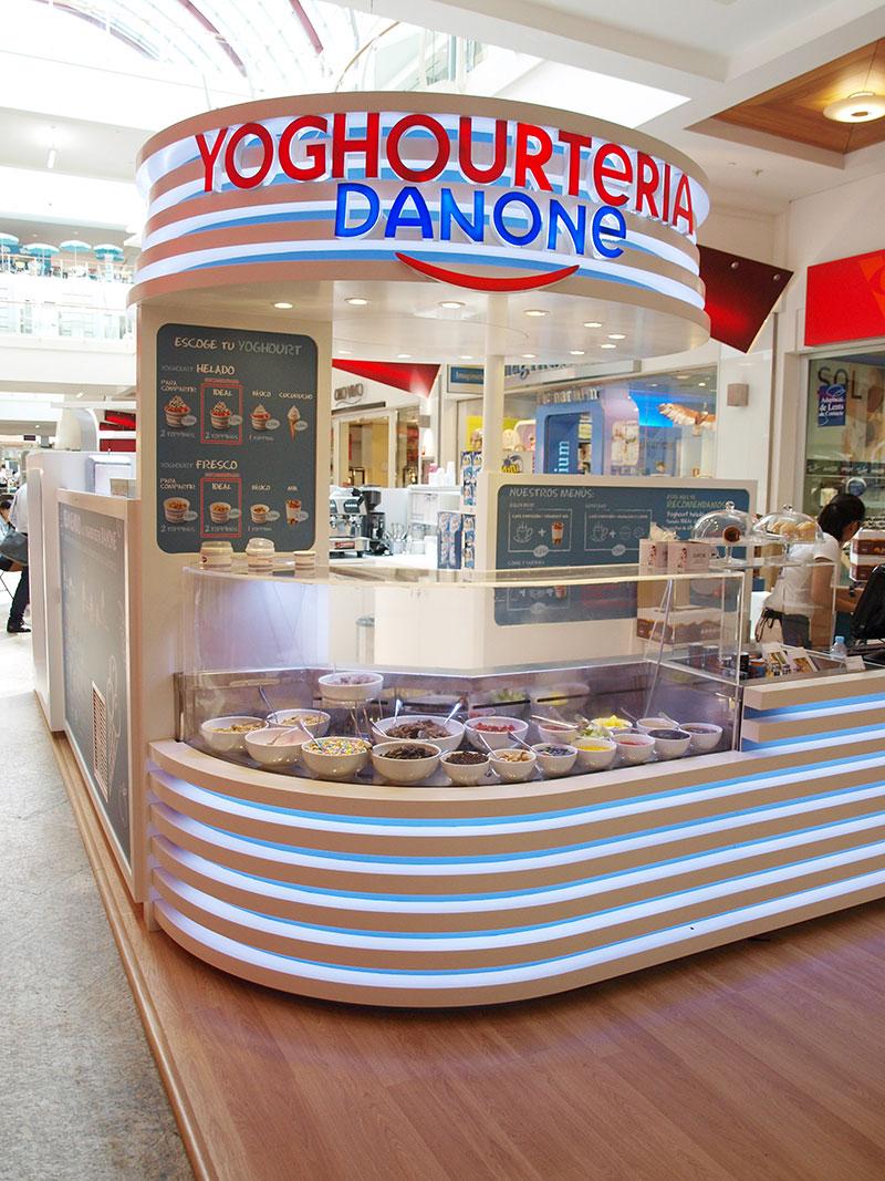 Reforma Kiosco Danone Diagonal-Mar