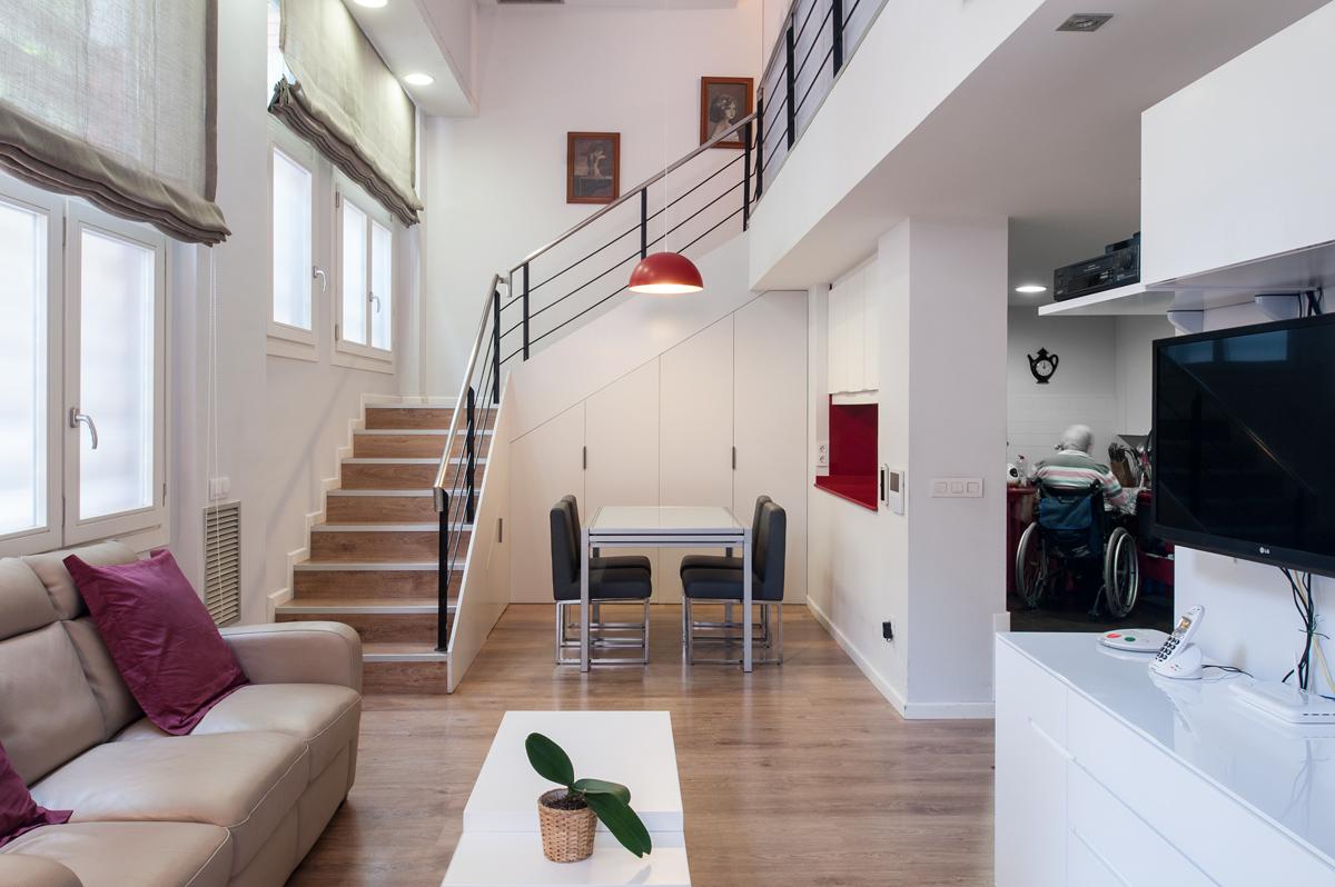 Casas Modernas Por Dentro Sala. Imagen Del Dormitorio Con Una Sala ...