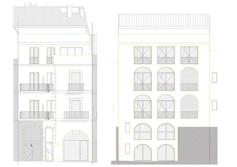 Proyecto de reforma integral edificio en Figueres