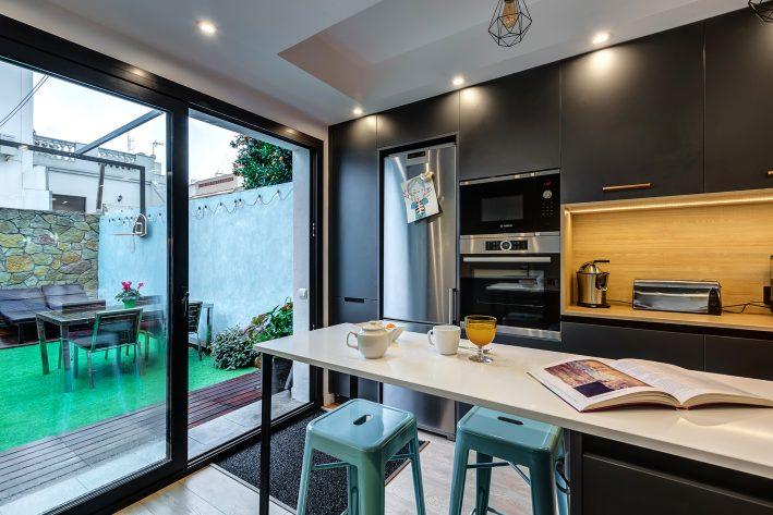 reforma integral de vivienda cocina
