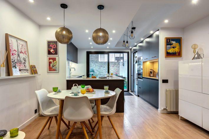 reforma integral de casa comedor