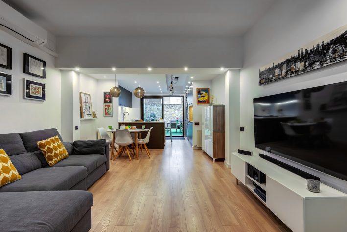 reforma integral de vivienda salon