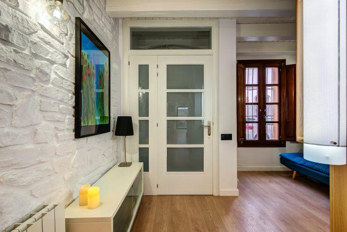 reforma integral de casa recibidor